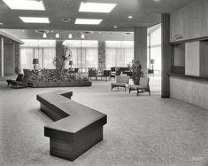 Shorpy Historical Photo Archive :: Tamarack Lodge, Lobby S: 1957