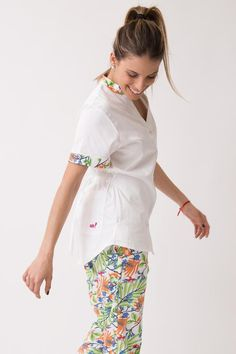 Emma Spandex Ananda Cute Scrubs Uniform, Spandex, Medical, Model, How To Wear, Outfits, Collection, Fashion, Nursing