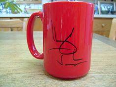 "Autographed ""The Boy from Oz"" mug (2004)"