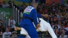 Judô: Antônio Tenório garante medalha (REPRODUÇÃO / SPORTV) Videos Online, Entertainment, News