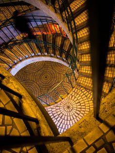 Embarcadero Center stairway, San Francisco