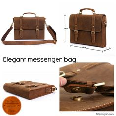 Carry your laptop and other personal belongings with style! Men's Wearhouse.