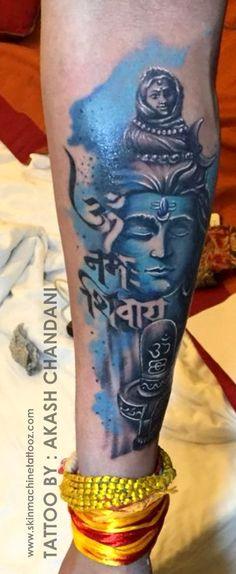 Shiva Tattoo, Detailed Tattoo, Lord Shiva, Tattoo Studio, Appointments, Tattoo Artists, Watercolor Tattoo, India, Tattoos
