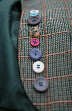 Love odd buttons on anything.