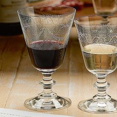 Glasses with Class: Gorgeous Etched Glassware |Vinspire