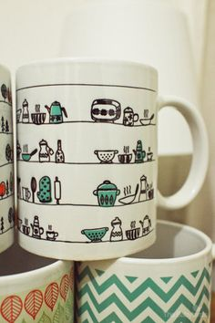 The Babybirds Projects » Pattern Mugs – Pre Order Now!