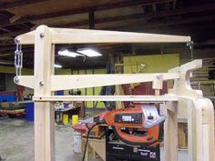 Shop Made Scroll Saw - Part 2 - by William @ LumberJocks.com ~ woodworking community