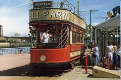 Glasgow Garden Festival Tram (1988) (by agcthoms).