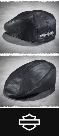 7b9c04a511e8c H-D® ivy caps are a powerful style statement for the true rider. Shop the  Men s Harley-Davidson® Nostalgic Leather Ivy Cap now.
