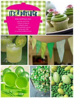 Green Party: Perfect for St. Patrick's Day!