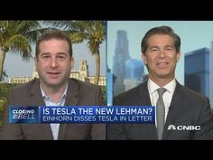 Greenlight's David Einhorn compares Tesla to Lehman Brothers - YouTube David Tepper, Brother, Youtube, Youtubers, Youtube Movies