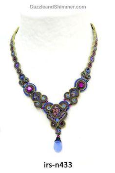 "Dori Csengeri Necklace $387  18"" seems a little short for me but it is jaw dropping!"