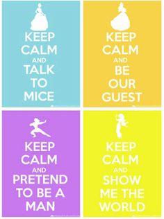 Keep Calm and Disney On! Disney Princess (and. Disney Family, Disney Girls, Disney Love, Disney Magic, Disney Pixar, Walt Disney, Disney Style, Disney Characters, Disney Parody