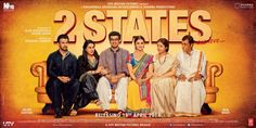 Meet Arjun Kapoor aka Krish & Alia Bhatt aka Ananya with their respective families in the 1st poster from 2 States