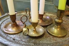 Pienet kynttilänjalat / Small candle sticks