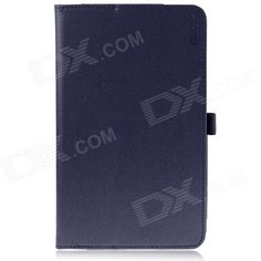 ENKAY Protective PU Leather Case w/ Stand for Asus MeMO Pad 8 / ME581C - Deep Blue Price: $9.22