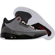quality design 16ad0 e44f7 Air Jordan 3 III Retro (stealth   varsity red   lt grapht   black)
