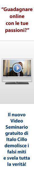 Guadagna su internet con le tue passioni http://www.cerchiaristretta.com/video/?aff_id=25775&camp_id=0
