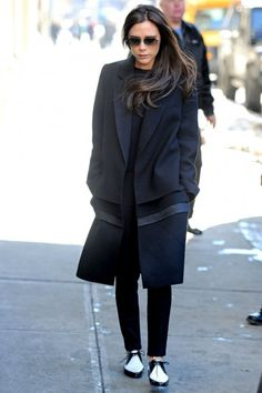 Victoria Beckham Wears Flats, Reveals Plans Start Shoe Collection | Marie Claire
