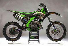 250 Dirt Bike, Cool Dirt Bikes, Dirt Bike Gear, Mx Bikes, Dirt Biking, Kawasaki Dirt Bikes, Kawasaki Motorcycles, Racing Motorcycles, Enduro Motocross