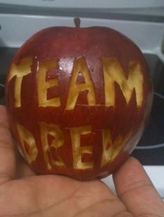 An apple a day keeps #TeamJonathan away!