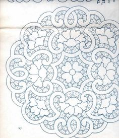 Alejandra Villacis's media statistics and analytics Border Embroidery Designs, Cutwork Embroidery, Vintage Embroidery, Embroidery Patterns, Machine Embroidery, Free Motion Quilting, Hand Quilting, Wood Craft Patterns, Filet Crochet Charts