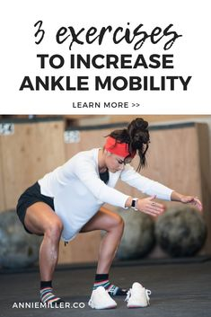 Strength coach Annie Miller shares 3 exercises to improve ankle mobility and gain more from your workouts. Read more >> Ankle Flexibility, Stretches For Flexibility, Flexibility Workout, Ankle Mobility Exercises, Pre Workout Protein, Travel Workout, Vacation Workout, Running Workouts, Stretching Workouts