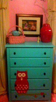 Oh, I LOVED doing this one! So much cuteness! I never got a great pic of this one =/ http://www.facebook.com/pages/Inspired-Creations-Furniture/205793936159220