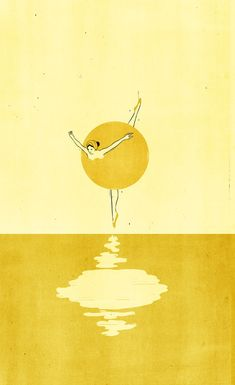 Intercepted by Gravitation | Illustrations in Yellow by Alessandro Gottardo...