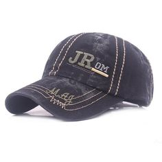 Custom Soft Baseball Cap Firefighter Chief Gray Embroidery Twill Cotton