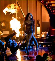 Selena Gomez Performs 'Same Old Love' at AMAs 2015 - Watch Now!: Photo #897567. Selena Gomez wears a sheer outfit to perform her hit song