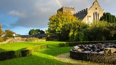 The ruins of an old abbey in County Kilkenny, Ireland - Jyeshern Cheng/iStockphoto/Getty Images Oh The Places You'll Go, Places To Visit, Travel Raincoat, Waterford Castle, Ireland Weather, West Coast Of Ireland, Tens Place, I Want To Travel, Traveling By Yourself