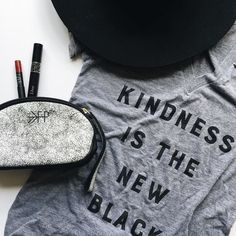 11 hours left to get your very own #kindnessisthenewblack t-shirt (and others!) from my friend @parscaeli! She's offering a fab #leapday sale in her shop today only.