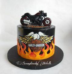 Harley Davidson cake by Michelle Chan