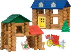 Lincoln Logs Shady Pine Homestead  Toys for boys  http://www.topteny.com/top-10-awesome-christmas-toys-for-boys/