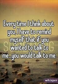 was crazy about you but sadly you were f*:£&n too blind to see.. if you wanted to talk to me...you would talk to me... Actually loving this quote...its  kinda a so true