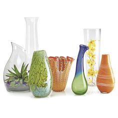 Decorative Glass Vases and Centerpiece Bowls, Highlight your style with a unique Decorative Glass Vases or Centerpiece Bowls. Our decorative vases come in clear and art glass varieties. Your choice from a huge selection! Home Decor Furniture, Home Furnishings, Vases Decor, Centerpieces, Old Time Pottery, Decorative Vases, Home Decor Store, Backyard Ideas, Sale Items