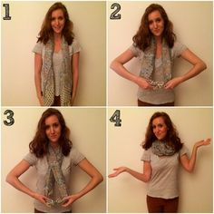 6 Ways to Tie a Scarf, Your Ultimate Fall Fashion Accessory