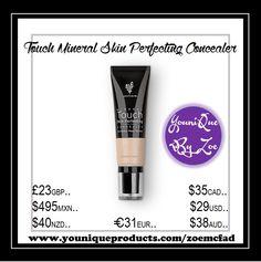 Touch Mineral Skin Perfecting Concealer Verdecken Sie Mängel, holen Sie die Schönheit zum Vorschein.
