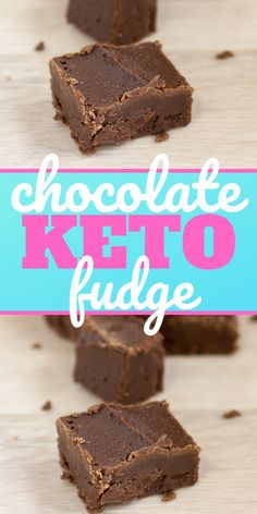 Get your chocolate fix with this low carb chocolate keto fudge recipe! See how to make keto fudge on the blog! #keto #ketorecipes #LowCarb #Lowcarbrecipes #ketofudge #lowcarbfudge