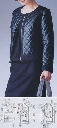 Своими руками (Творчество, Шитье, Выкройки)Шьем женскую куртку