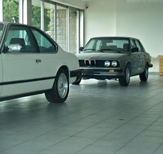 This BMW dealer is literally a time capsule. Left untouched since the 1980's, there are many 'new' models from that time. Strange that something like this would just get left behind and untouched for so long. The rumor has it, the dealer owner lost selling rights.