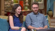 Celebrity champion Seth Rogen and wife, Lauren Miller, helped raise awareness about Alzheimer's on The Meredith Vieira Show! #ENDALZ