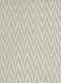 Herringbone Weave Wallpaper A smart textured wallpaper with a woven herringbone design, shown in light grey.