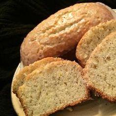 Lemon Poppy Seed Bread - cut the fat in half and it still tastes good ...