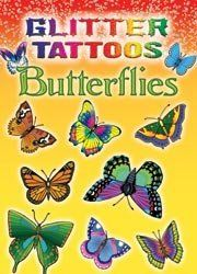Dover Publications-Glitter Tattoos Butterflies ** You can find out more details at the link of the image. (This is an affiliate link) Body Tattoos, Girl Tattoos, Non Permanent Tattoo, Butterfly Birthday Party, Butterfly Kids, Real Tattoo, Dover Publications, Book Activities, Activity Books