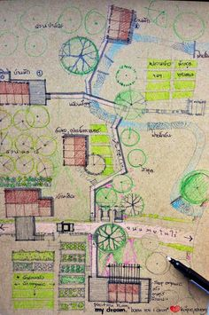 Architect resigned home # 3 Living in the path of the royal father to the path Der Architekt hat sei Farmhouse Plans, Vintage Farmhouse, Farmhouse Style Curtains, Bathroom Colors Blue, Family Tree Chart, Modern Farmhouse Interiors, Bamboo Crafts, Farm Stay, Farm Gardens