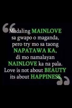 haaaay. gusto ko toh. haha. Bisaya Quotes, Sad Crush Quotes, Peace Quotes, Life Quotes To Live By, Love Quotes For Him, Filipino Quotes, Pinoy Quotes, Tagalog Love Quotes, Love Quotes Tumblr