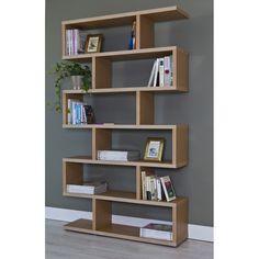 Estantería zig zag serie 6310 - TopKit #muebles #decoracion #interiorismo #estanterias #salon