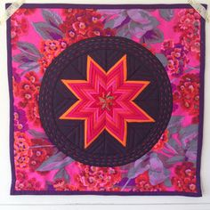 Folded Star Mini Quilt, Lawson and Lotti